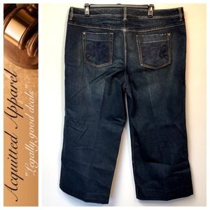 Seven7 | Brand Wide Leg Plus Size Jeans Petite